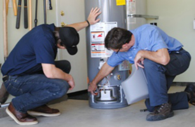 Plumbers available to service your gas and electric hot water heater in Cypress, CA